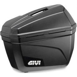 GIVI Panniers, E22 Monokey - Black, Pair