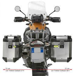 GIVI Trekker OB Pannier Frames for BMW R1200GS, PL684CAM