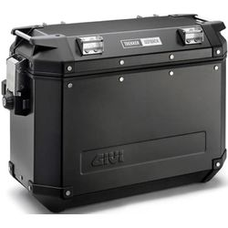 GIVI Pannier Box, Trekker Outback 37L, Black, OBK37B