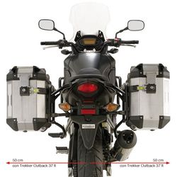 GIVI Trekker OB Pannier Frames for Honda CB500X 2013-, PL1121CAM