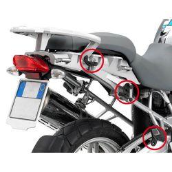 GIVI Rapid Release Pannier Frames for BMW R1200GS 2004>2012, PLR684