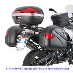 GIVI Fixed Pannier Frames for BMW F650/800GS 2008>, PL690