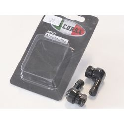 La Corsa Right Angle Valve Stem - Black