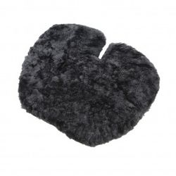 Ridesoft Jumbo Sheepskin Gel Pad Motorcycle Seat Cushion