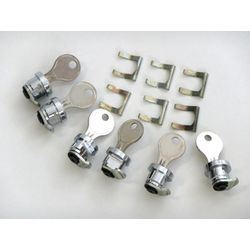 SW-Motech TraX ALU-BOX Lock Cylinder Set