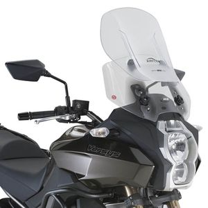 GIVI Adjustable Airflow Screen for Kawasaki Versys 650 2015>18, Versys 1000 2012>2016.AF4105