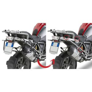GIVI Rapid Release Pannier Frames for BMW R1200GS 2013>, PLR5108