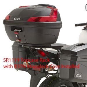 GIVI Top Case Mounting Kit for Honda CBR500R Monolock 2013>, SR1119