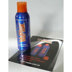 VuPlex plastic cleaner and anti-static polisha