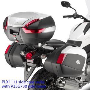 GIVI Fixed Pannier Frames for Honda NC700X 2012>, PLX1111