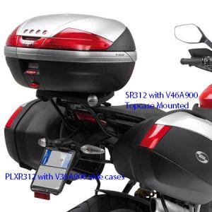 GIVI Top Case Mounting Kit for Ducati Multistrada 1200 2010>, SR312