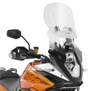 GIVI Adjustable Airflow Screen for KTM 1190 Adv 2013> and 1050 Adventure 15>16/ 1090 Adventure 17>, AF7703