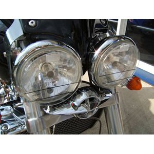 AMHP Headlight Protectors for Triumph Rocket III