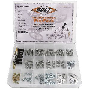 Bolt Motorcycle Hardware - Euro Style Pro-Pack Contents 2004-EUPP