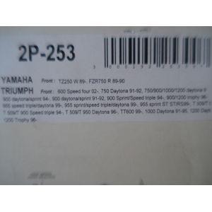 Nissin Front Brake Pads - Yamaha, Triumph 2P 253