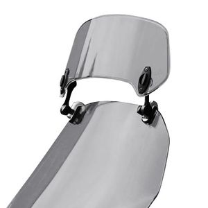 MRA X-Creen Touring Motorcycle Windshield Spoiler, Clear or Tint, MRUXCA-0 or MRUXCA-1